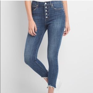 [GAP] button fly jeans NWT
